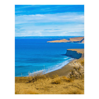 Papel Timbrado Opinião do Seascape de Punta del Marquez Ponto de