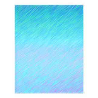 Papel Timbrado Papel azul do álbum de recortes do teste padrão da