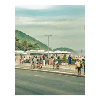 Papel Timbrado Passeio Rio de Janeiro Brasil de Copacabana