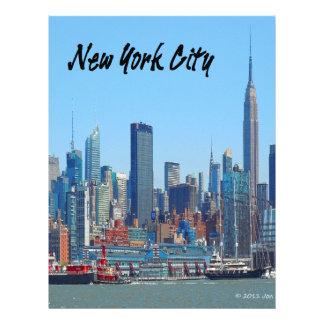 Papel Timbrado Presentes de New York