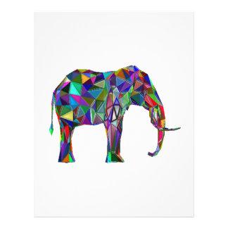 Papel Timbrado Renascimento do elefante
