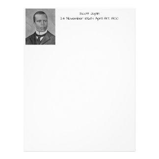 Papel Timbrado Scott Joplin
