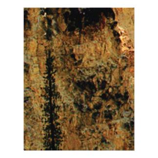 Papel Timbrado superfície amarela áspera