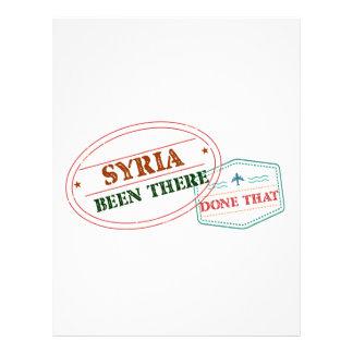 Papel Timbrado Syria feito lá isso