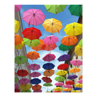 Papel Timbrado Telhado dos guarda-chuvas