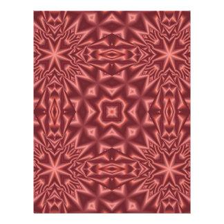 Papel Timbrado Teste padrão abstrato do vermelho