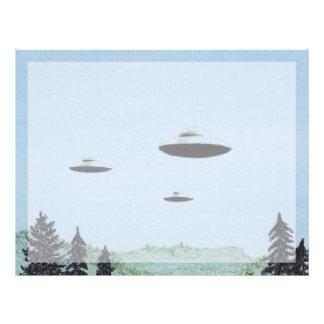 Papel Timbrado Trio do UFO
