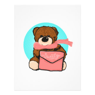 Papel Timbrado Urso do Sweety