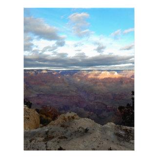 Papel Timbrado Vista panorâmica do Grand Canyon