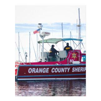 Papel Timbrado Xerife do Condado de Orange