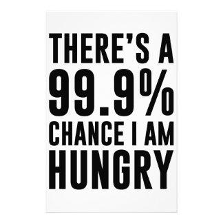 Papelaria 99,9 Possibilidade eu estou com fome