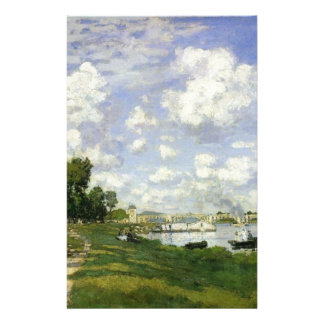 Papelaria A bacia em Argenteuil - Claude Monet