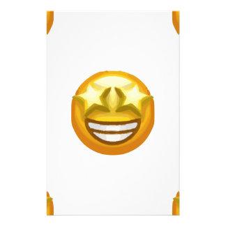 Papelaria a estrela eyes o emoji