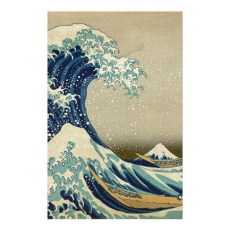 Papelaria A grande onda Kanagawa