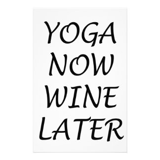 Papelaria A ioga Wine agora mais tarde