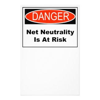 Papelaria A neutralidade líquida é em risco