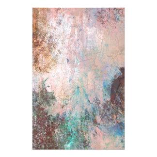 Papelaria Abstrato frio da pedra
