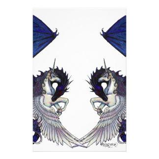 Papelaria Amantes do unicórnio e do casamento do dragão