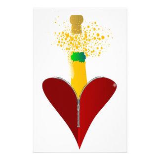 Papelaria Amor Champagne