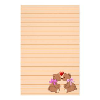 Papelaria Amor do urso de ursinho