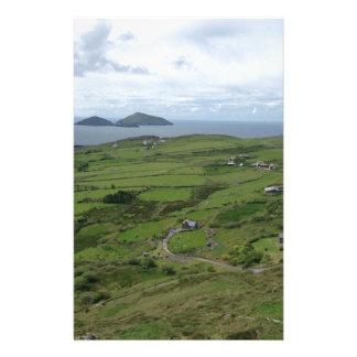 Papelaria Anel da vista para o mar do irlandês de Ireland do