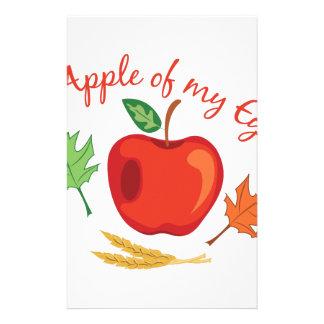 Papelaria Apple do olho