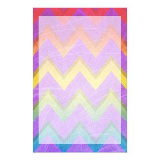 Papelaria Arco-íris Chevron por Shirley Taylor