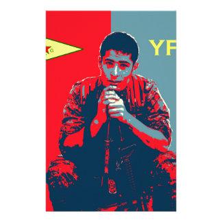 Papelaria Arte 2 do soldado 4 de YPG