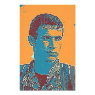 Papelaria Arte curdo do lutador de YPG