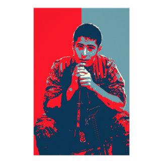 Papelaria Arte do soldado 4 de YPG