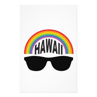 Papelaria arte principal de Havaí