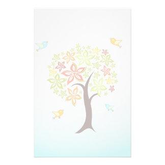 Papelaria Árvore e pássaros