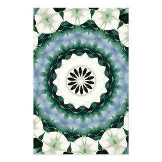 Papelaria Azul Cerulean e mandala verde de Sacramento