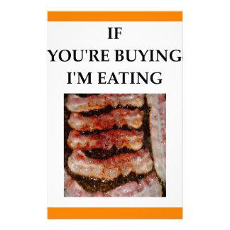 Papelaria bacon