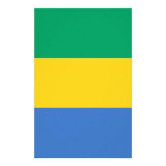 Papelaria Baixo custo! Bandeira de Gabon