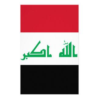 Papelaria Baixo custo! Bandeira de Iraque