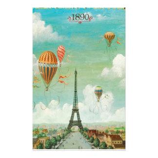 Papelaria Ballooning sobre Paris