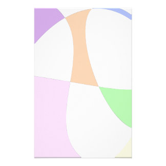 Papelaria Balões coloridos abstratos
