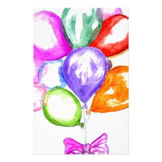 Papelaria Balões coloridos infláveis