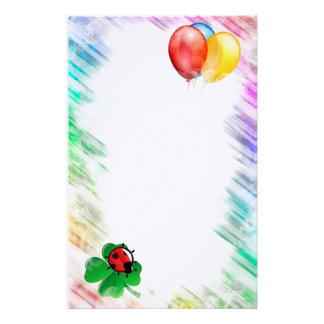 Papelaria Balões, joaninha e trevo