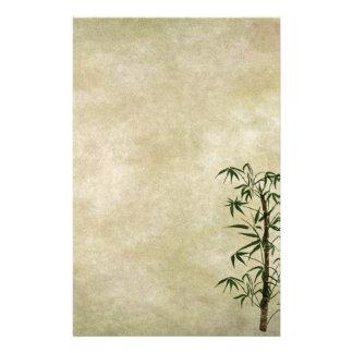 Papelaria Bambu oriental 1 do vintage