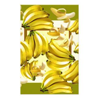 Papelaria bananas amarelas