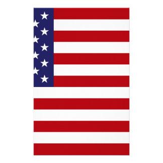 Papelaria Bandeira americana - bandeira dos Estados Unidos -