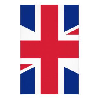 """Papelaria Bandeira BRITÂNICA """"Union Jack """" de Reino Unido da"""