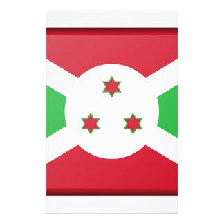 Papelaria Bandeira de Burundi