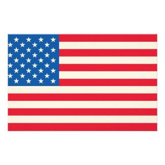 Papelaria Bandeira dos Estados Unidos da bandeira dos EUA