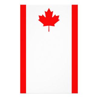 Papelaria Bandeira nacional patriótica de CANADÁ