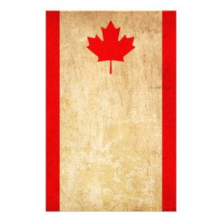 Papelaria Bandeira nacional patriótica do vintage original