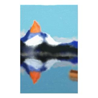 Papelaria Barco pela arte das montanhas