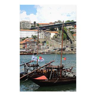 Papelaria Barcos do tambor de vinho, Porto, Portugal